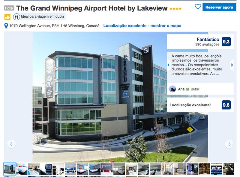 Reservas Hotel The Grand Airport em Winnipeg