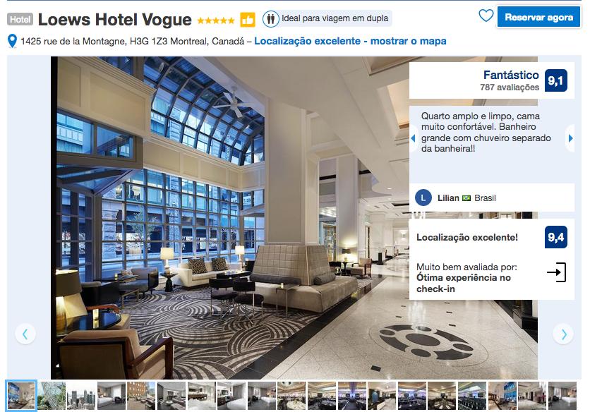 Loews Hotel The Vogue em Montreal