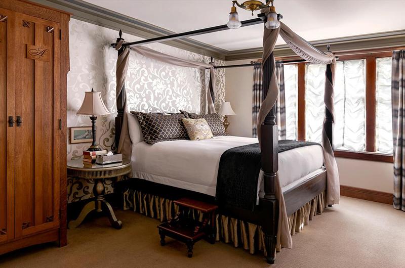 Suíte do Abigail's Hotel em Victoria