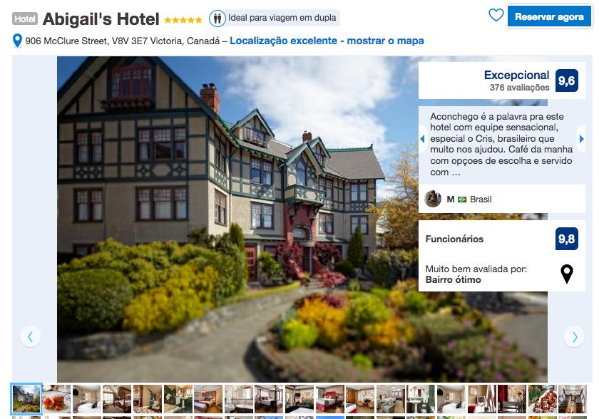 Abigail's Hotel em Victoria