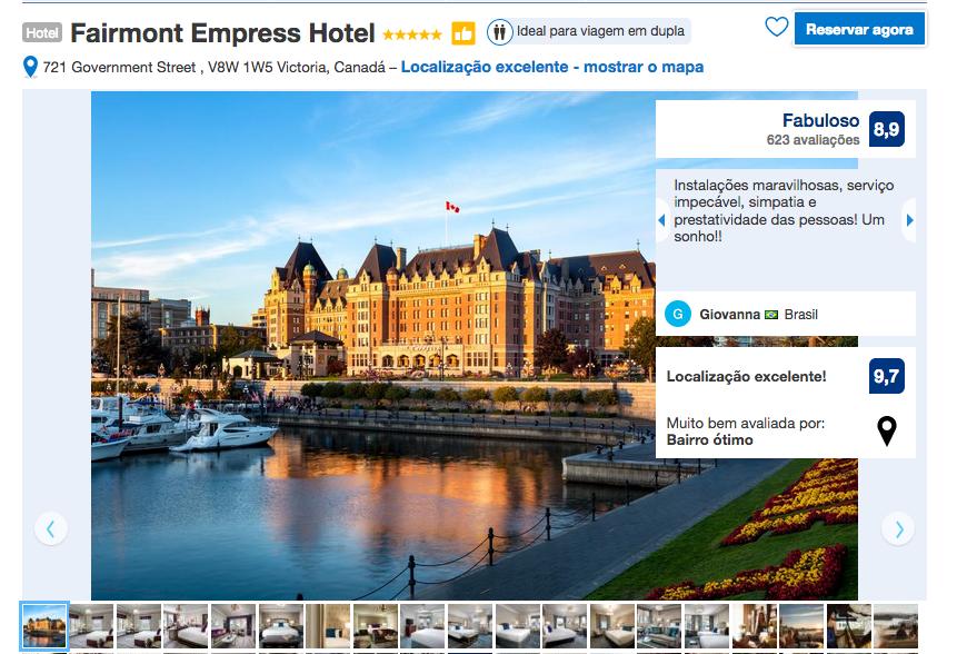 Hotel Fairmont Empress em Victoria
