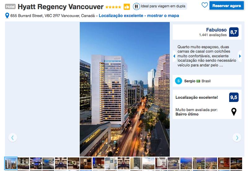 Hotel Hyatt Regency Vancouver