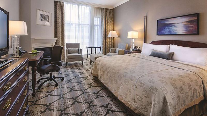 Suíte do Magnolia Hotel & Spa em Victoria