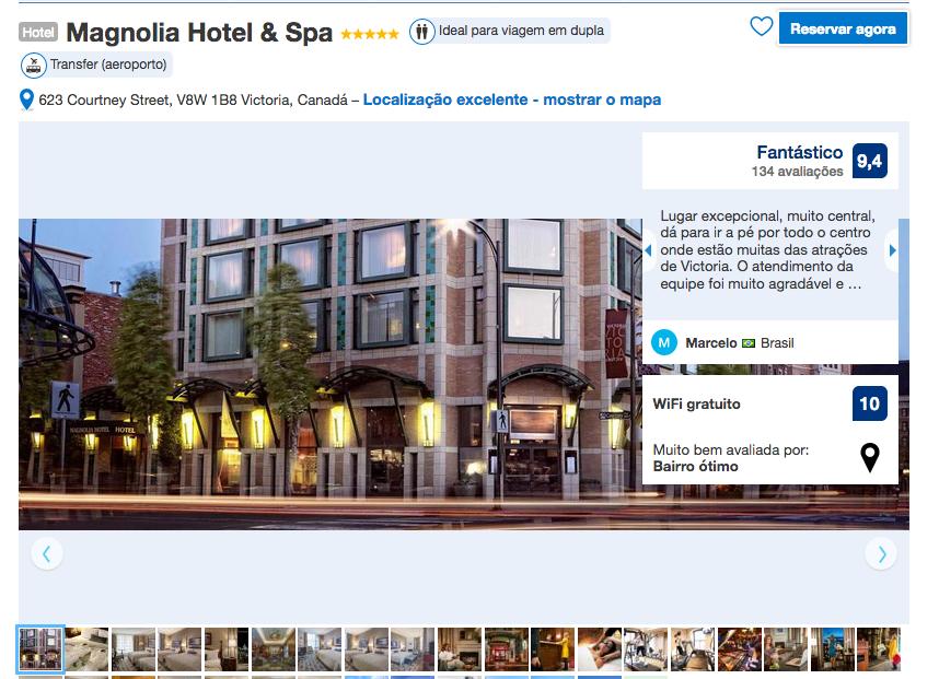 Magnolia Hotel & Spa em Victoria