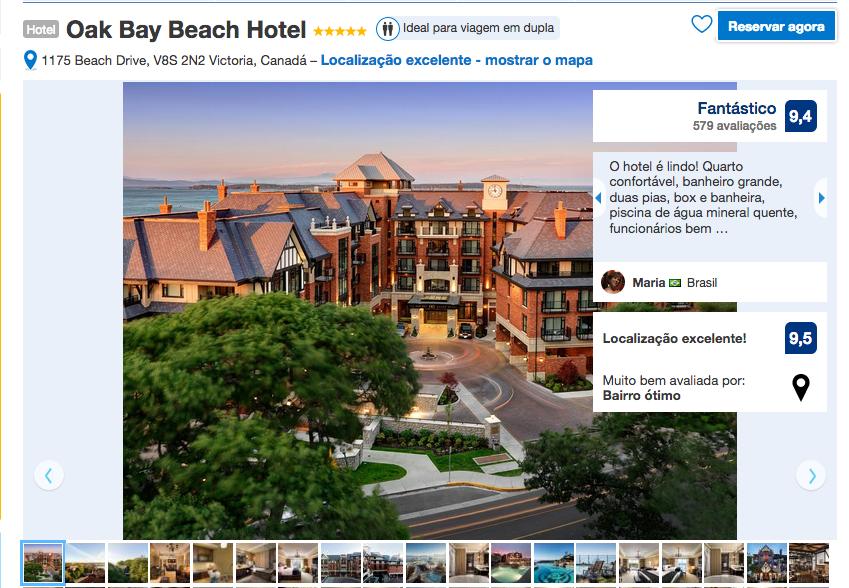 Oak Bay Beach Hotel em Victoria