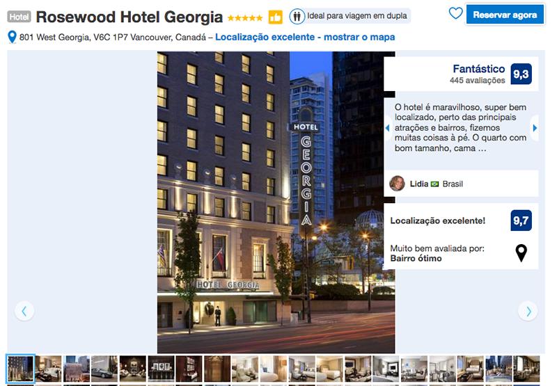 Rosewood Hotel Georgia em Vancouver