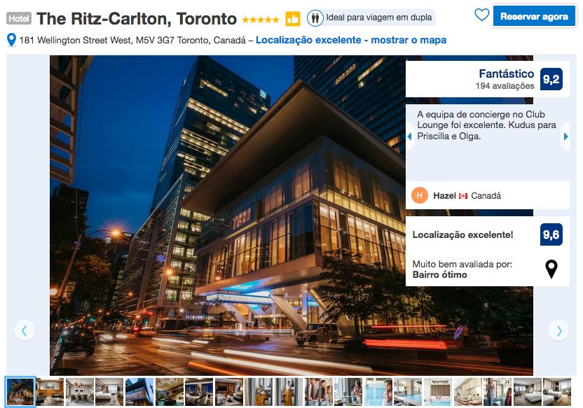 Hotel The Ritz-Carlton em Toronto