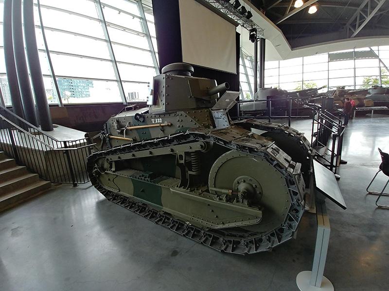 Tanques do Museu da Guerra do Canadá em Ottawa