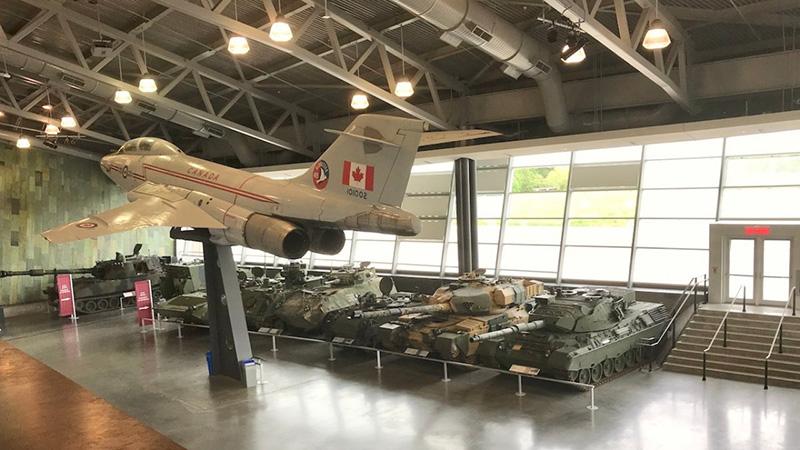 Acervo do Museu da Guerra do Canadá em Ottawa