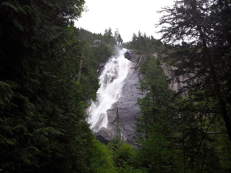 Cataratas de Shannon em Whistler