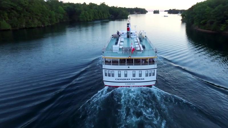 Embarcação do Cruzeiro turístico Ottawa