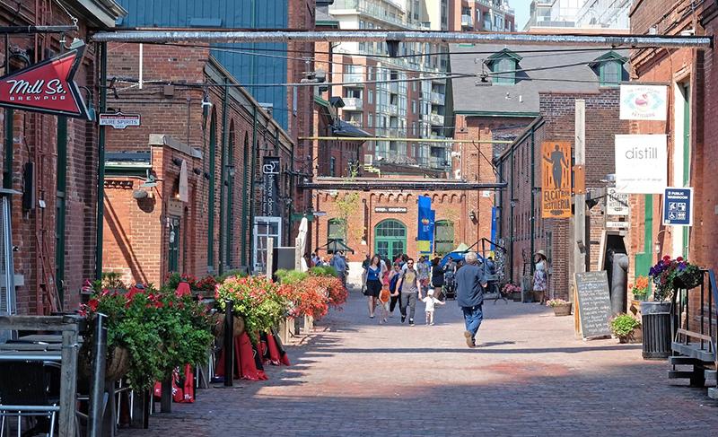 Excursão pelo Distillery District em Toronto