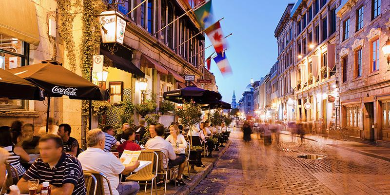 Restaurantes de Old Montreal