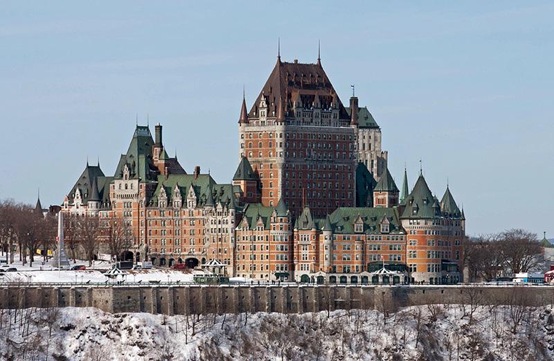 Hotel Fairmont em Quebec