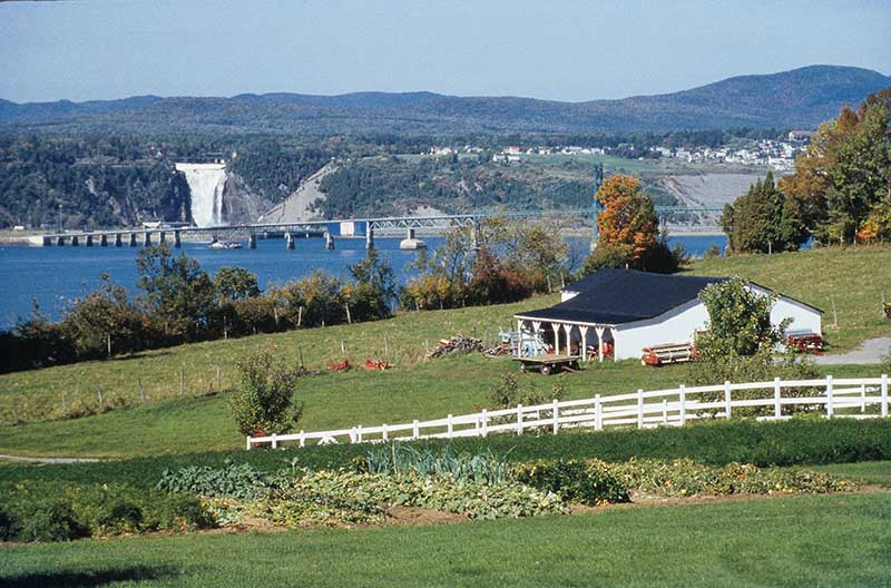 Ilha de Orleans Quebec