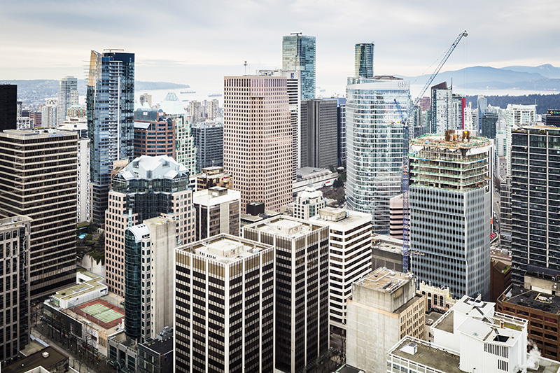 Vista do Mirante Vancouver Lookout