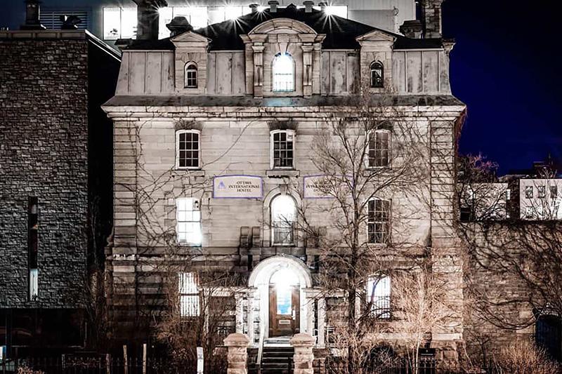 Catelo do passeio noturno assombrado em Ottawa