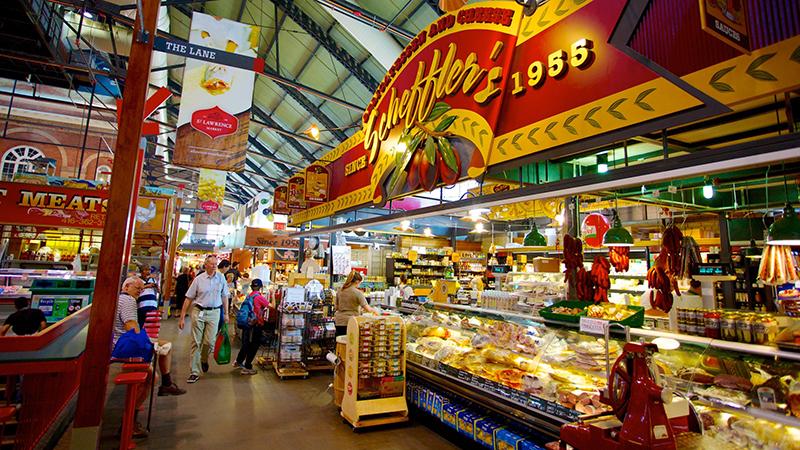 Experiência gastronômica nos mercados de Toronto