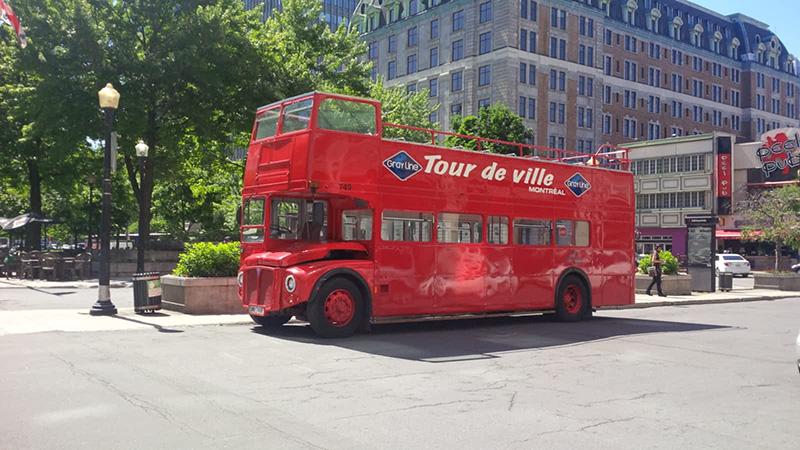Tour guiado de ônibus em Montreal