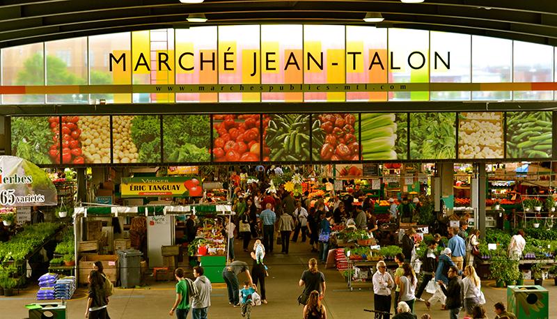 Mercado Jean-Talon em Montreal