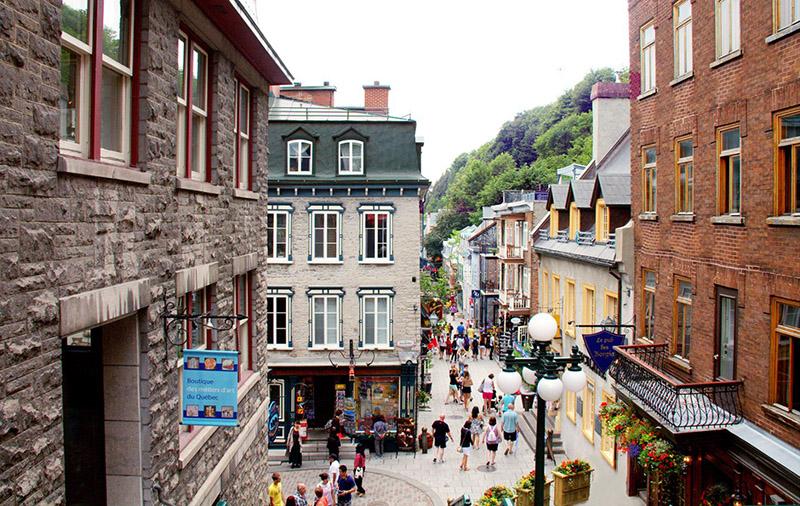 Passeio guiado sobre a história de Quebec