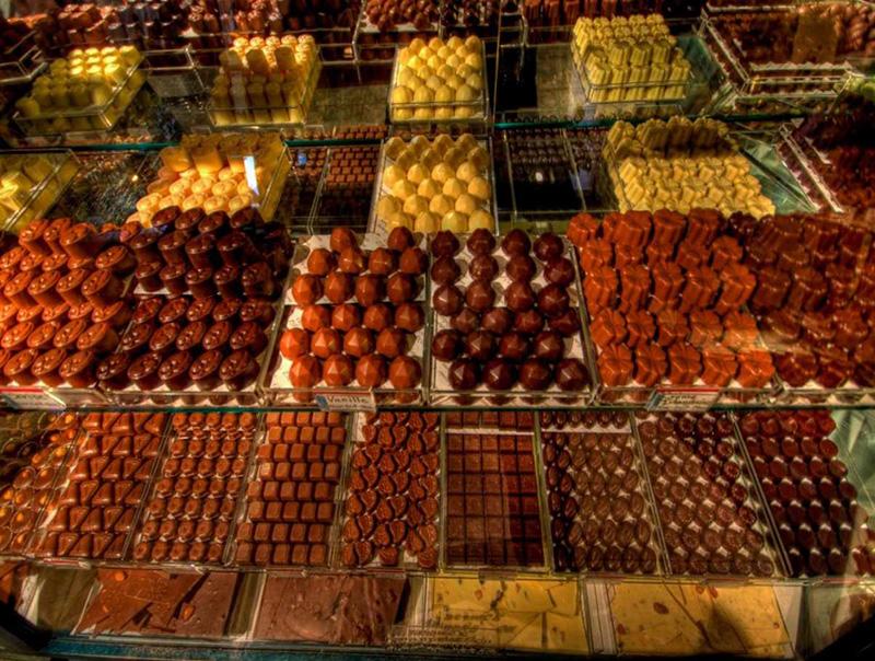 Chocolaterie Ste Petronille em Quebec