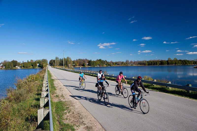 Excursão de bicicleta em Toronto