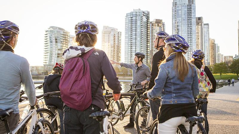 Excursão de bicicleta em Vancouver