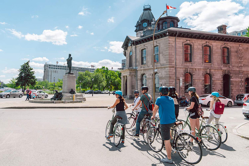Excursão de bicicleta em Montreal