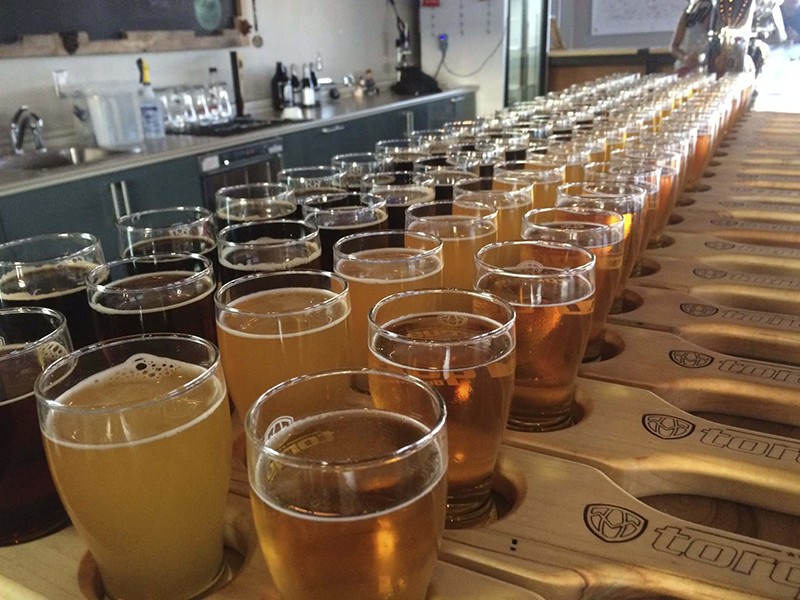 Excursão na cervejaria em Winnipeg