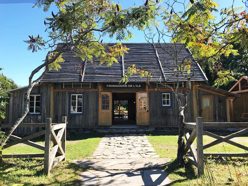Estabelecimentos do passeio gastronômico na ilha de Orléans em Quebec