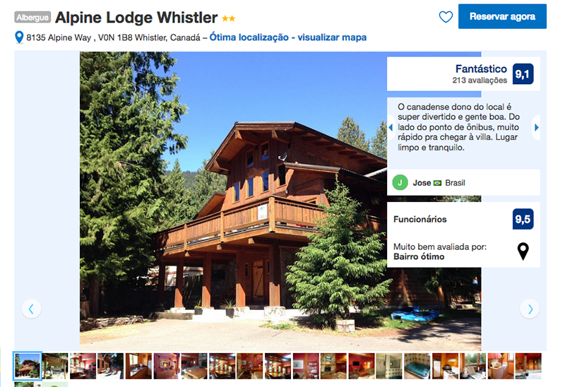 Hostel Alpine Lodge Whistler
