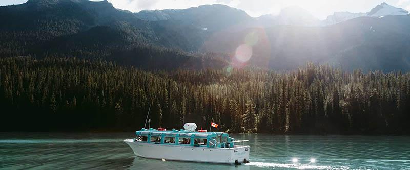 Maligne Lake Cruise em Jasper