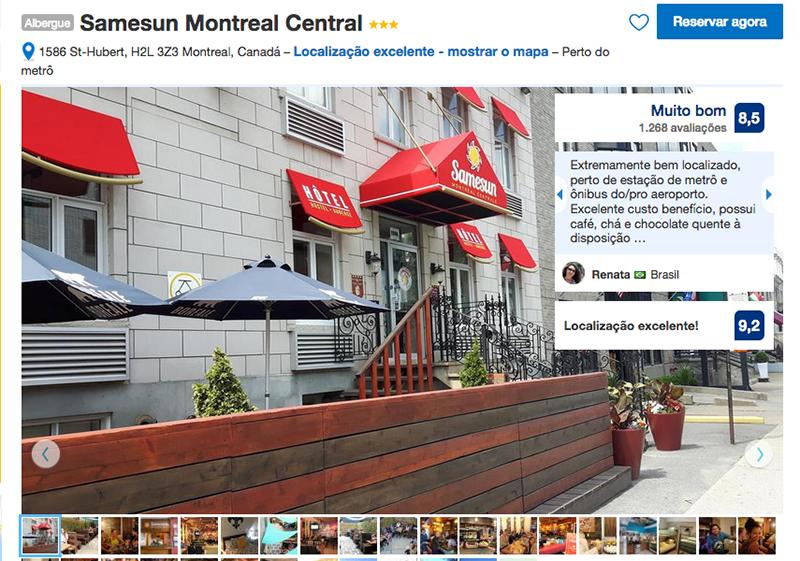 Samesun Montreal Central