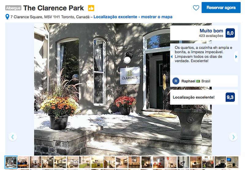 The Clarence Park em Toronto
