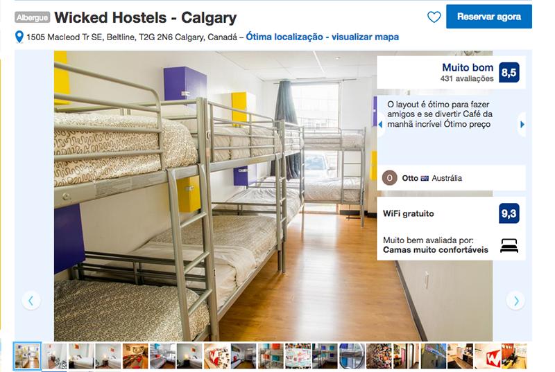 Wicked Hostels em Calgary